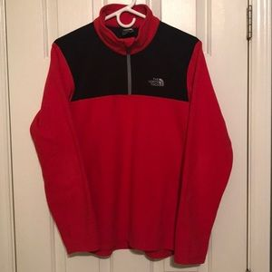 North Face 1/4 Zip Jacket - Size Youth XL